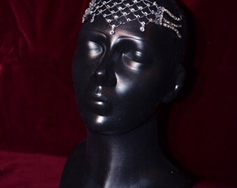 Star Wars Queen Amidala crystal head jewelry parade dress Star Wars