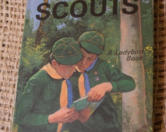 Cub Scouts. A Vintage Ladybird Classic Children's Reading Book. Series 706