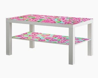 Lilly Pulitzer Inspired Coffee Table