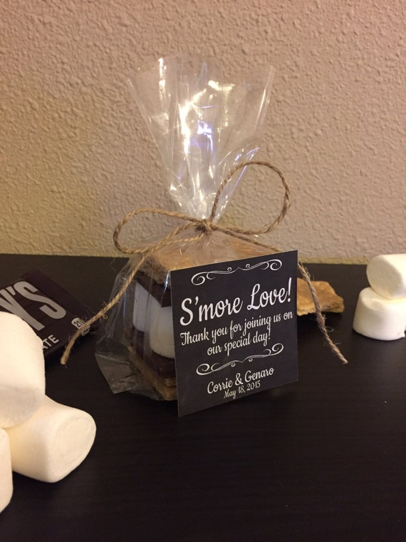 Wedding Favor Tag Kit : Wedding Favor with Bag, Twine and Label - Personalized Favor Gift Kit ...