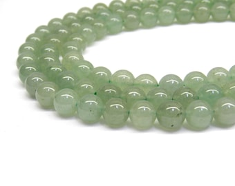 Green Aventurine, Aventurine, Aventurine Beads, Beads for Jewelry Making, Gemstone Beads, Green Beads 4mm Beads 4mm Gemstone beads 8mm Beads