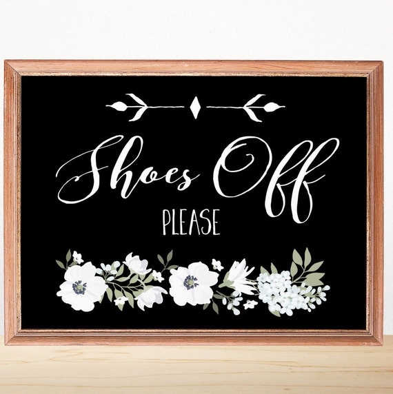 Shoes off sign please remove your shoes entryway decor Taking shoes off in house etiquette