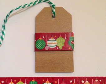 "30"" Christmas Ornament Washi Tape Sample"