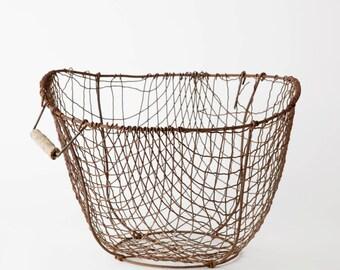 Vintage German Wire Basket
