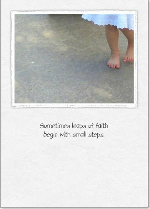 Encouragement (LE) ~ Small Steps