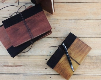 Wooden Cover Notebook / Journal [The 'Song']