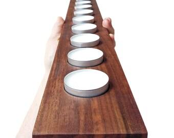 Handmade Rustic Tealight Holder, Wooden Candleholder, Rustic Candleholder,  Tealight Holder, Reclaimed Wood Candleholder, Handmade item