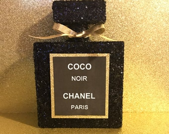 """Inspired 6"""" Coco Noir Chanel Decor  Bottle   Shipping may vary"""