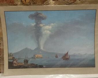 """Beautiful """"Camillo de Vito"""" print, by Giancarlo Alisio"""