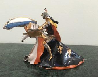 Knight by Italian Modernist Artist Miniati