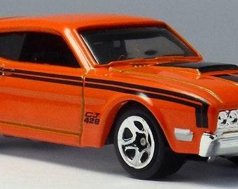 Hot Wheels '69 Mercury Cyclone (2012 New Models)   Hot Wheel Magnet