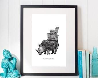 Mi Casa Su Casa, Rhino!