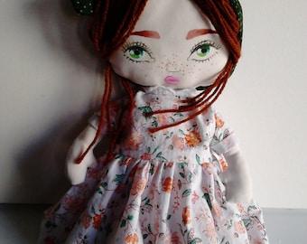 The rag doll Emilia