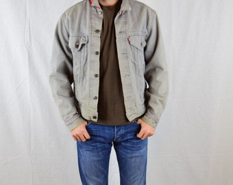 Mens Levi Jacket Late 1980's Levi's denim jacket Size M / Made in USA