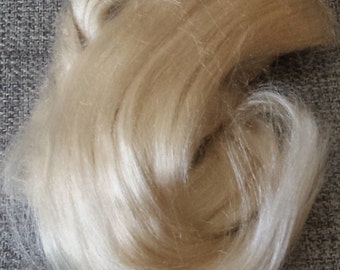 Luxurious Silk Roving by the Ounce