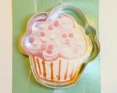 Cupcake Cookie Cutter by Ann Clark