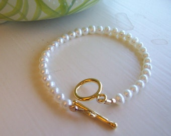 Cultured Pearl Bracelet Small