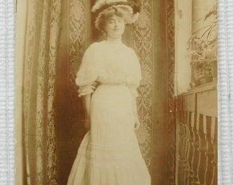 Antique Photograph - Edwardian Woman