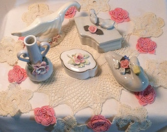 Vintage Ceramic Figurine Collection