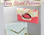 Evening or Day Clutch - Flat Style. Easy Street Pattern Sew and Sell by ChrisW Designs