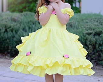 IN STOCK Girls Belle dress