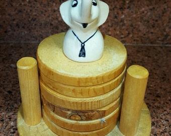 Baby Elephant / Ceramic Bell