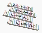 Thank You Tags - Gift Tags - Product Tags - Packaging Supplies - Gift Wrap - Favor Tags
