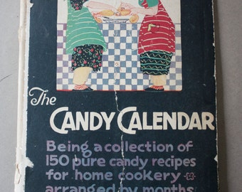 The Candy Calendar, 1924 Woman's World Magazine Co. Inc. Publication