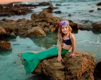 Mermaid Tail,  Fast Shipping! 11 colors; Swimmable and Walkable Mermaid Costume