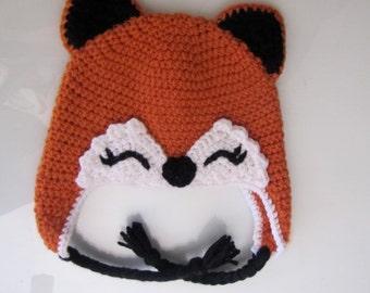 Infant Fox Hat