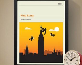 King Kong Movie Poster - Movie Poster, Movie Print, Film Poster, Film Poster