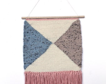 Soft Minimal Colors Tapestry Wall Hanging