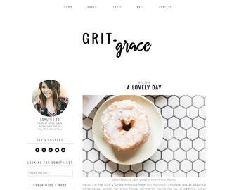 Premade Blogger Template - Blogger Theme  - Responsive Blogger  - Minimalist Blog Design - Blog Template - Blog Design