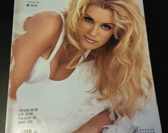 Vintage Playboy's Book of Lingerie July/August 1995 Featuring Jenny McCarthy