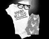 Hakuna Ma's Tatas © Bodysuit | Baby | Funny | I'm Hungry | Gift | Hakuna Matata | Best Friend | Baby Shower | New Mom