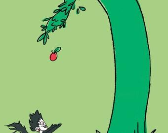 Giving Tree & Ryuk Crossover Print