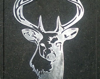 Buck Head Metal Art