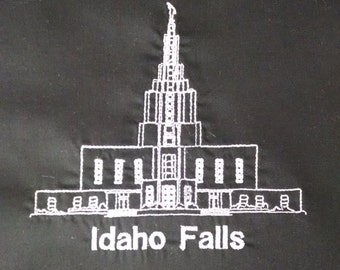 Embroidered Idaho Falls Temple