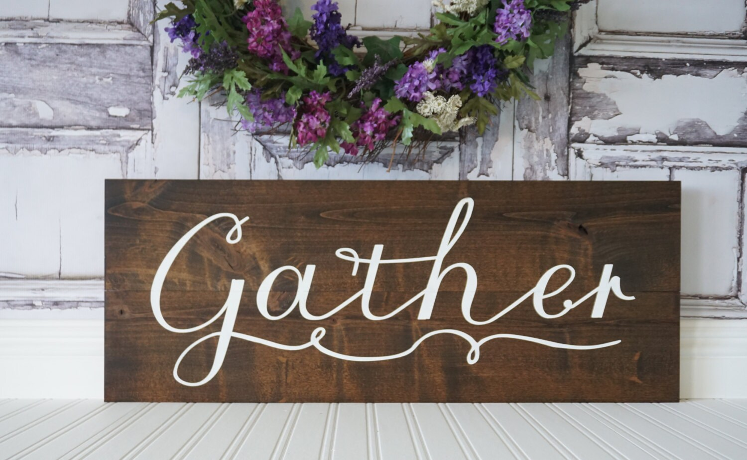 Dining Room Sign Gather Wall Art Pallet