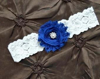 Shabby Garter,Bridal Garter Set, Wedding Garter Lace, Keepsake Garter, Toss Garter, You Choose Colors