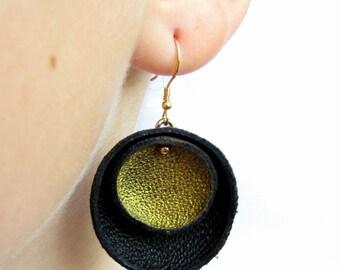 Dangle earrings Dangle gold earrings Sterling silver earrings Drop earrings Elegant earrings Statement earring Gift earrings Silver jewelry