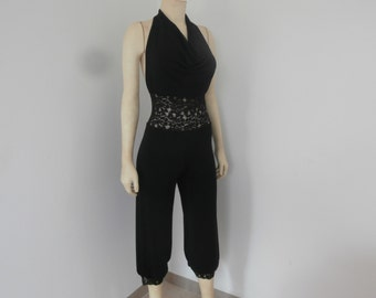 Tango Cowl Neck Jumpsuit  & Salsa a little black Alternative high Waist Size 0 to 8