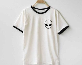 Alien Shirt TShirt T-Shirt T Shirt Tee