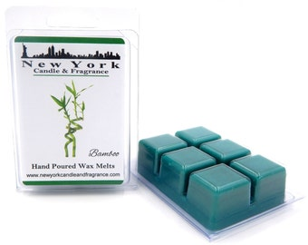Bamboo Wax Melts -- HIGHLY Fragrant -- New York Candle & Fragrance