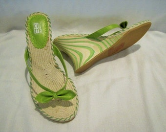 Wedge Sandals by City Snappers NOS