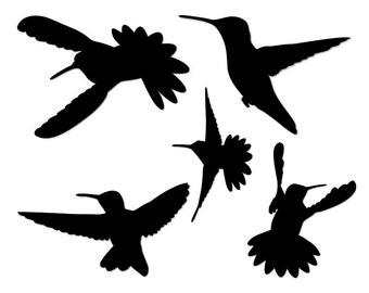 Hummingbird svg - Hummingbird - SVG files for Cricut - Hummingbird clipart - Hummingbird vector - SVG files - SET 1