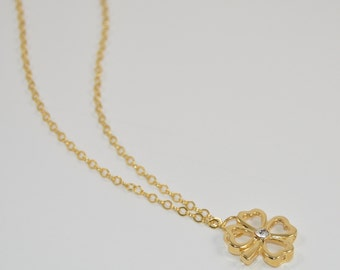 4 leaf clover pendant necklace