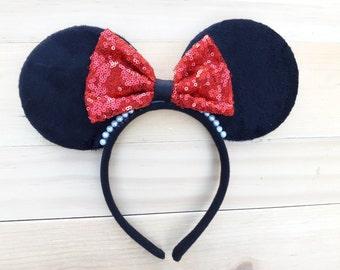 Sparkle Minnie Ears