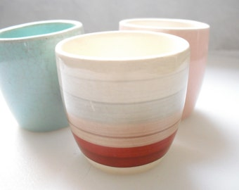 vintage egg cups - mix and match collection