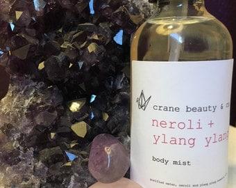 organic body mist // neroli+ylang ylang